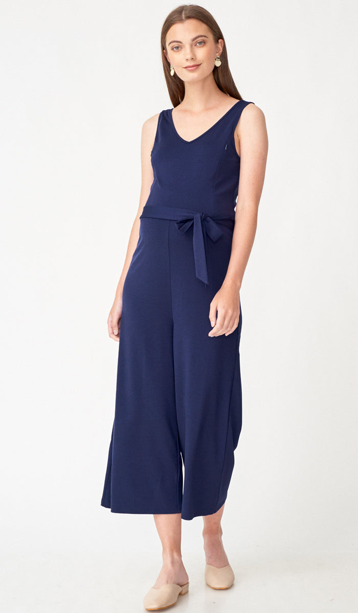 RONAN NURSING JUMPSUIT NAVY