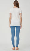 SALE - DARA BASIC NURSING TOP WHITE