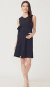 SALE - DELIA NURSING DRESS NAVY