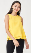 FREY NURSING TOP YELLOW