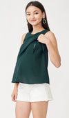 FREY NURSING TOP GREEN