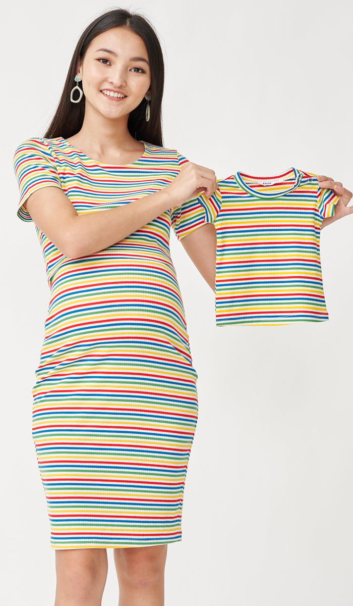 SALE - RIE KIDS TEE RAINBOW