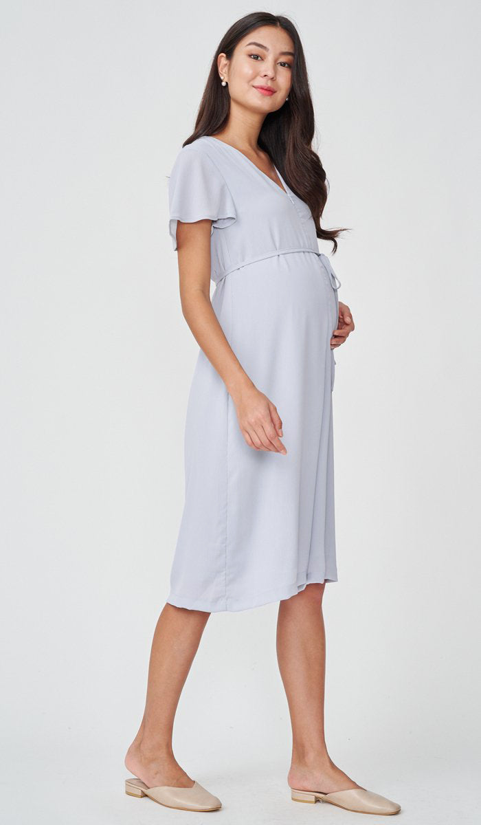 ALICIA NURSING JUMPSUIT GREY