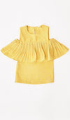 SALE - LYLA KIDS DRESS YELLOW