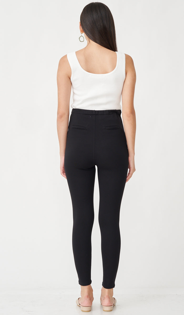 ALEXIS MATERNITY JEGGINGS BLACK