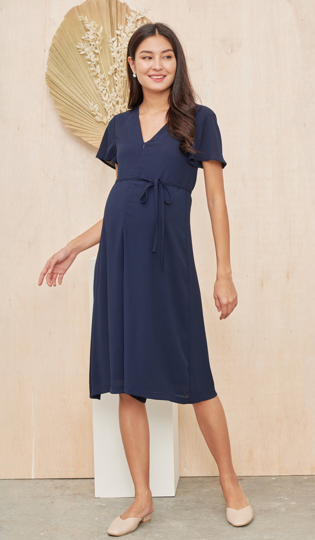 ALICIA NURSING JUMPSUIT NAVY
