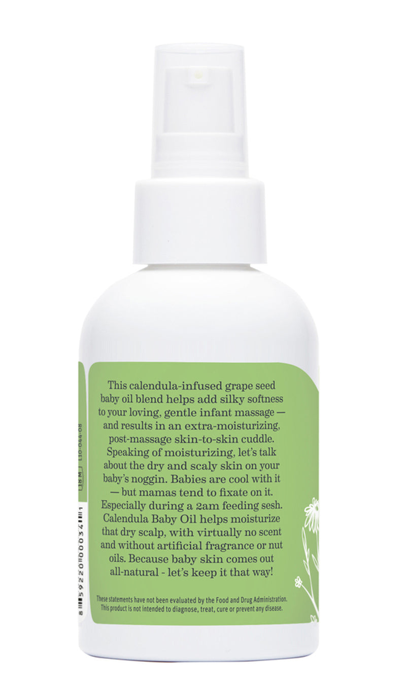 EARTH MAMA CALENDULA BABY OIL