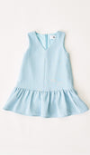 JUNE MINI DRESS LIGHT BLUE