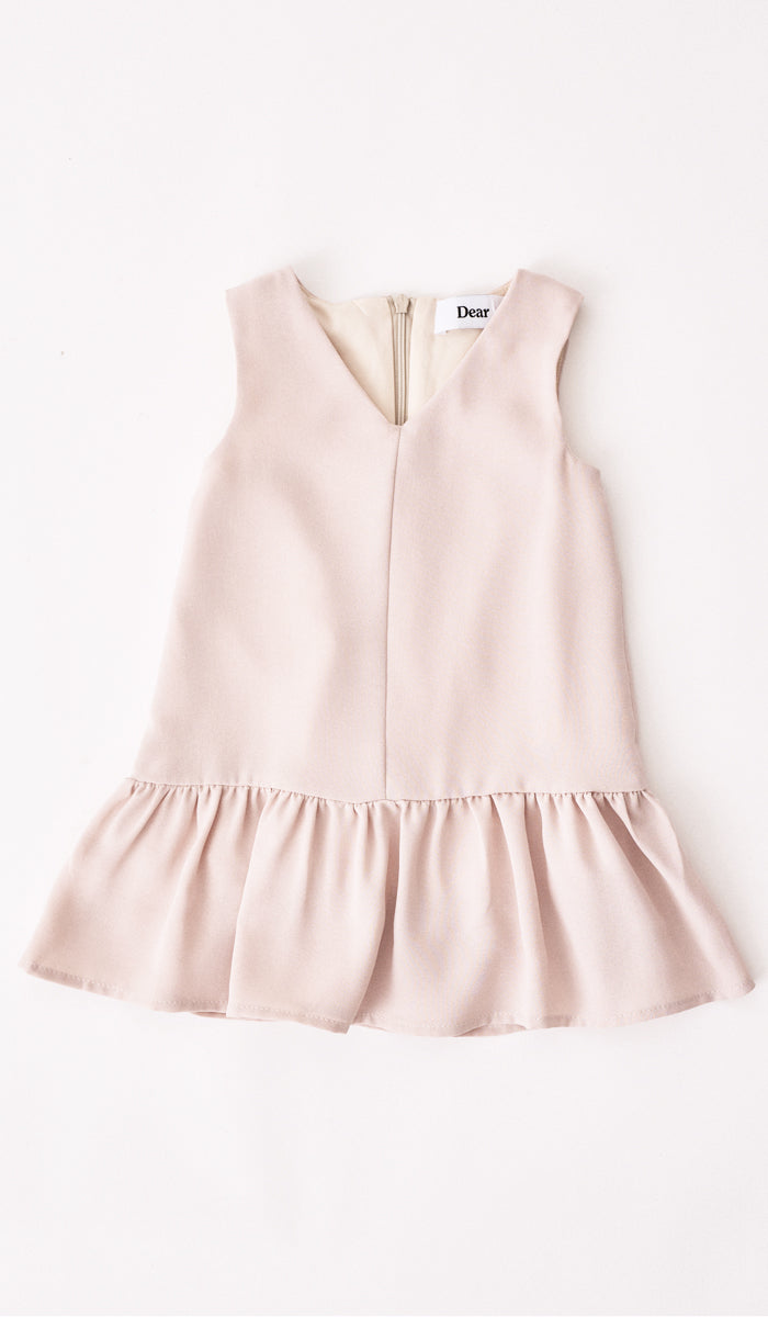 JUNE MINI DRESS NUDE