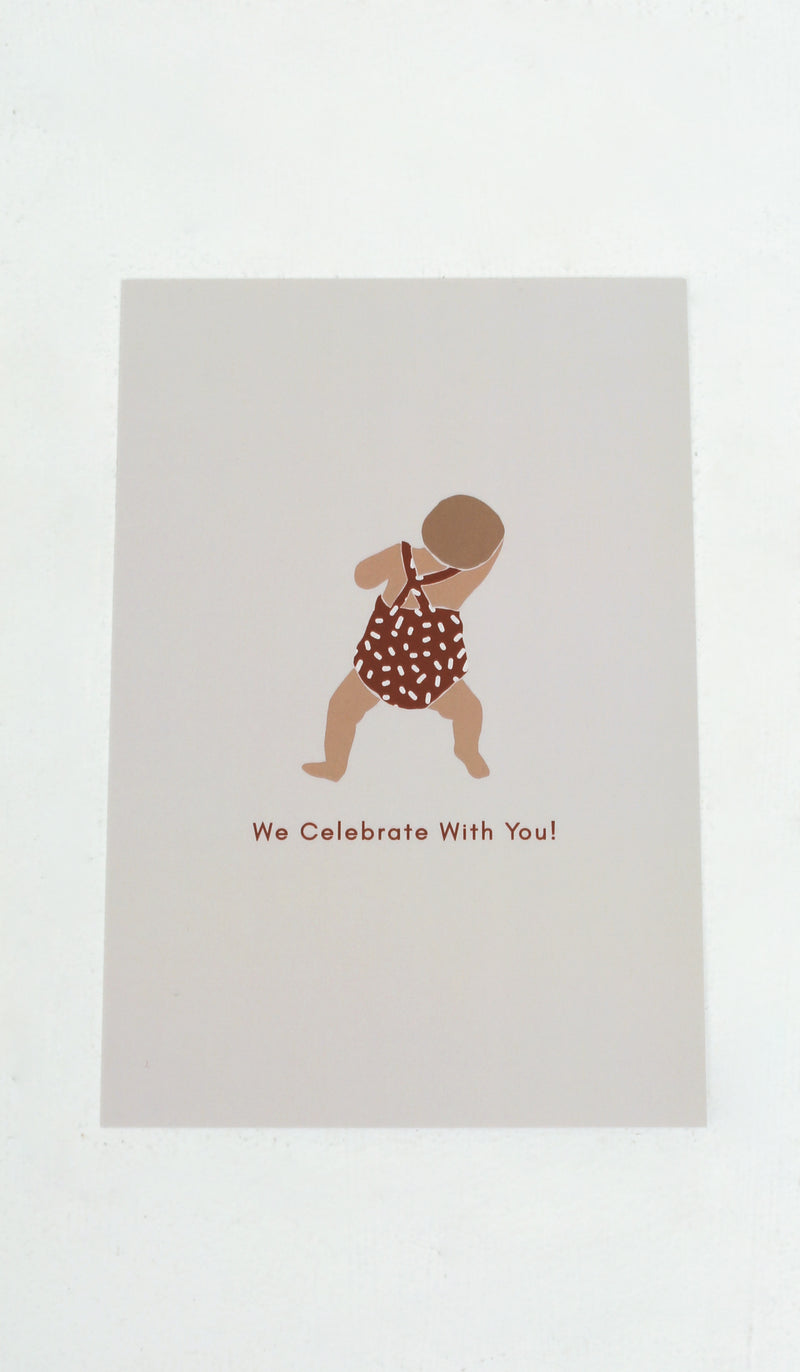 WE CELEBRATE WITH YOU CARD