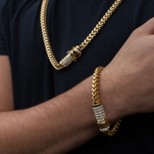 6mm Gold Franco Chain