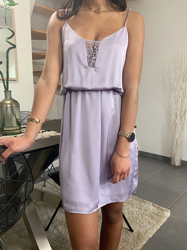 robe nuisette parme