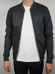 veste bombers grise homme