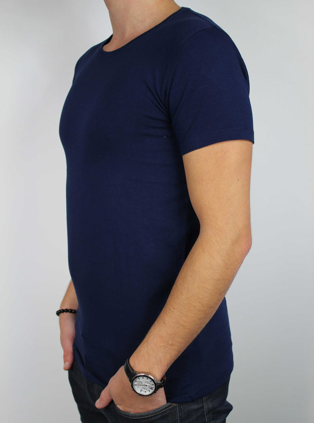 t-shirt navy homme