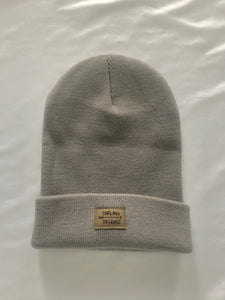 Darling Designz logo toque in light grey