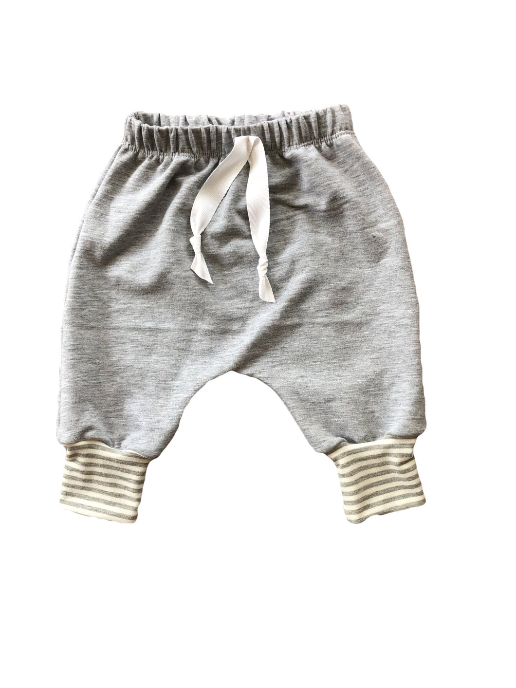 Grey Bamboo Harem Pants