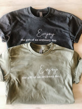 Ladies ordinary day t-shirt in light olive