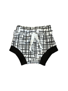 Crosshatch Monochrome Shorties