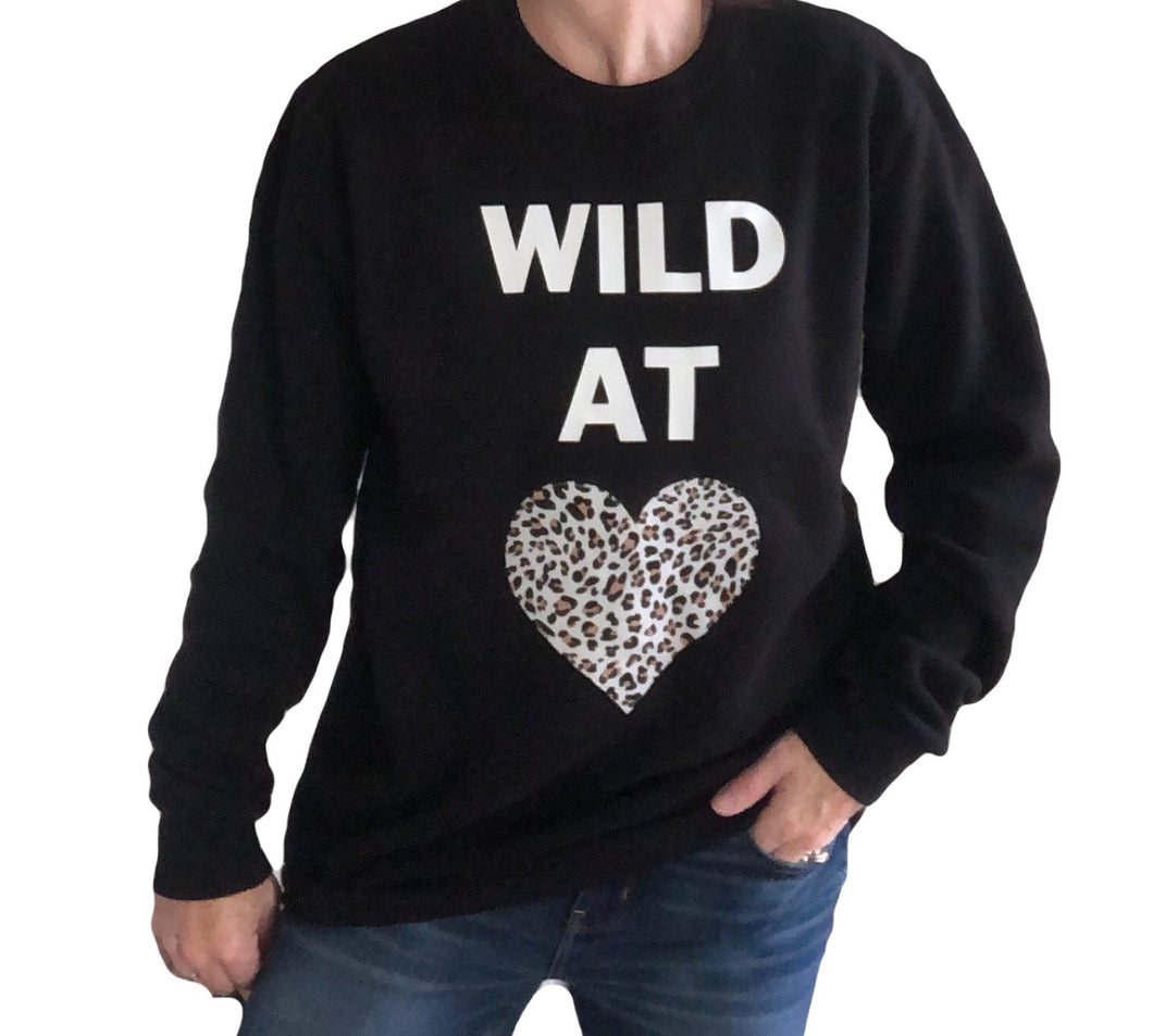 LADIES Wild at Heart Bamboo Sweatshirt