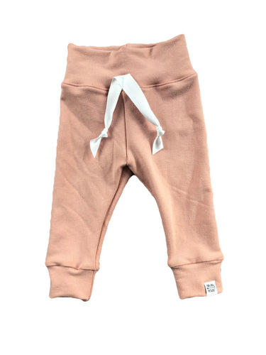 Pink Bamboo Slim Joggers