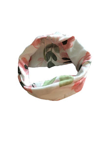 Watercolour Floral Cowl Scarf