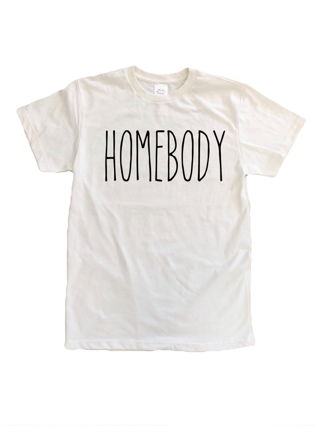 Homebody ladies tshirt in cream