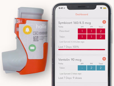 The Hailie Solution Helps Patients Track Their Inhaler Usage