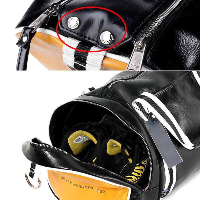 ... Hot Top PU Outdoor Sports Multifunction Training Fitness Travel Shoulder  Bag With Shoes Pocket ... 5892918115
