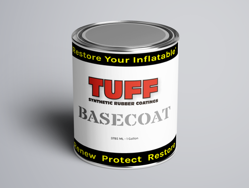 TUFF SRC Inflatable boat restoration paint hypalon pvc RIB boats