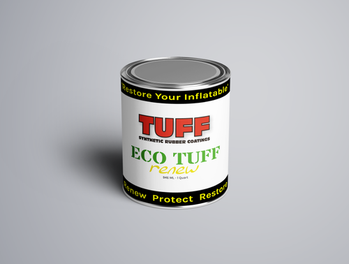 TUFF SRC Eco Tuff Quart, Gray color, Inflatable boat refresh paint
