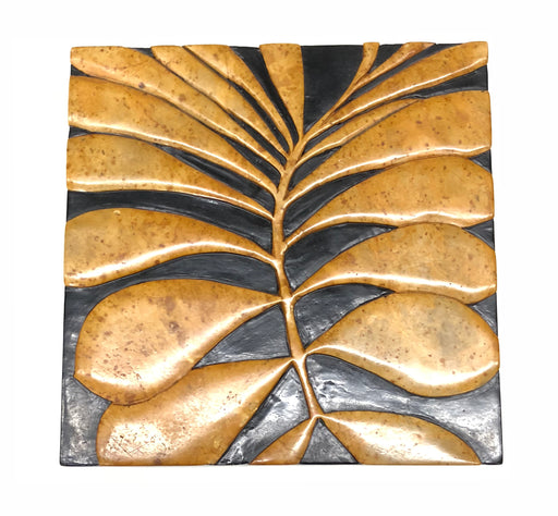 Leaves Soapstone Trinket Decor Box