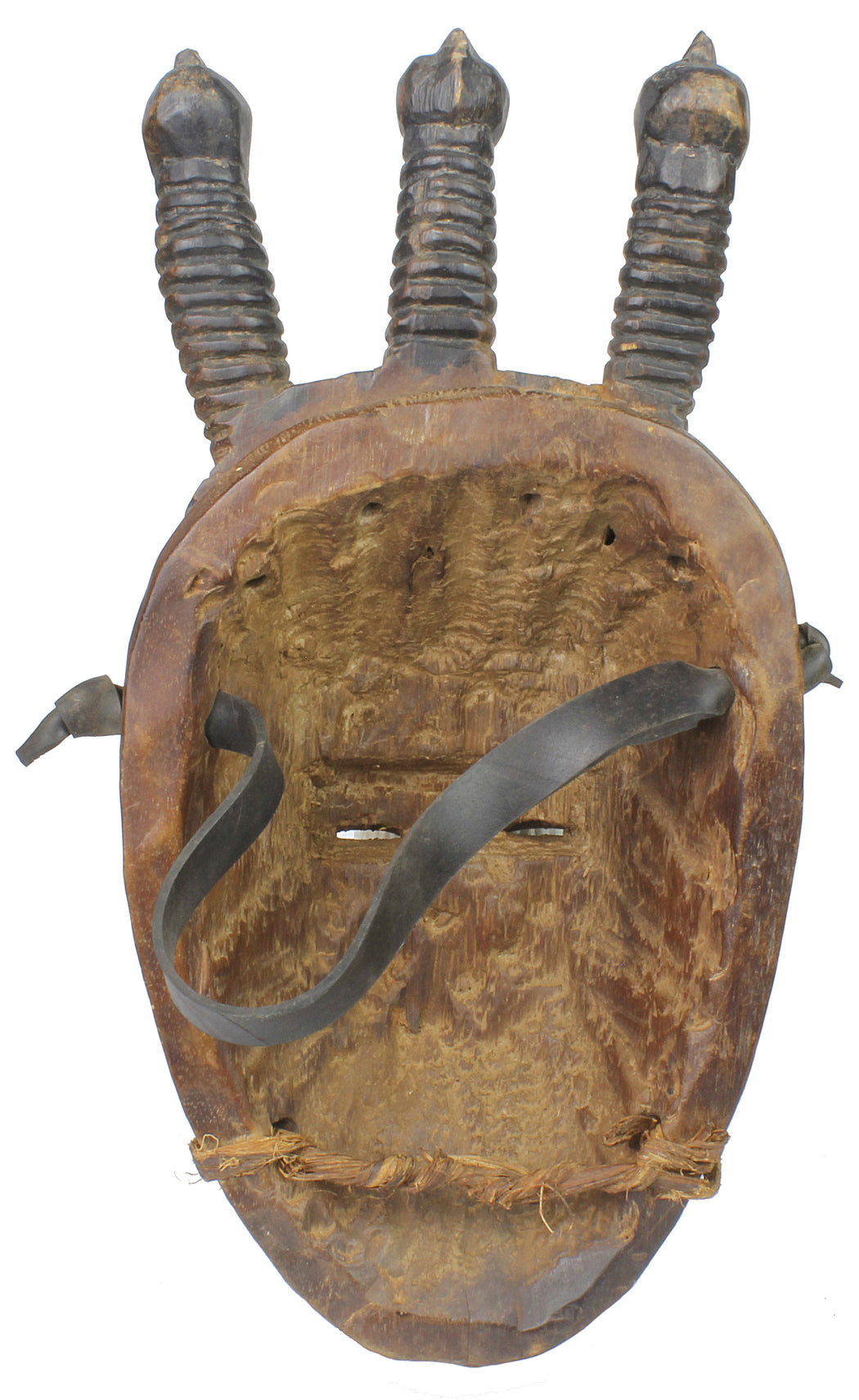 Authenticated Ceremonial African Yaure Tribal Mask - Niger Bend