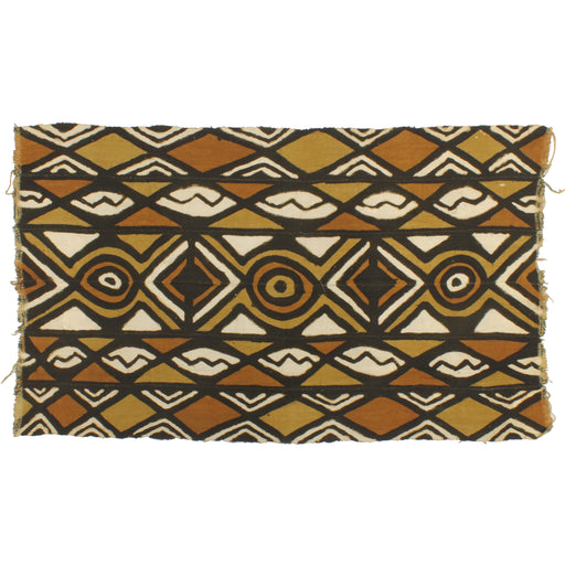 "Korhogo Printed Ivory Coast African Textile | 52"" x 31"" - Niger Bend"