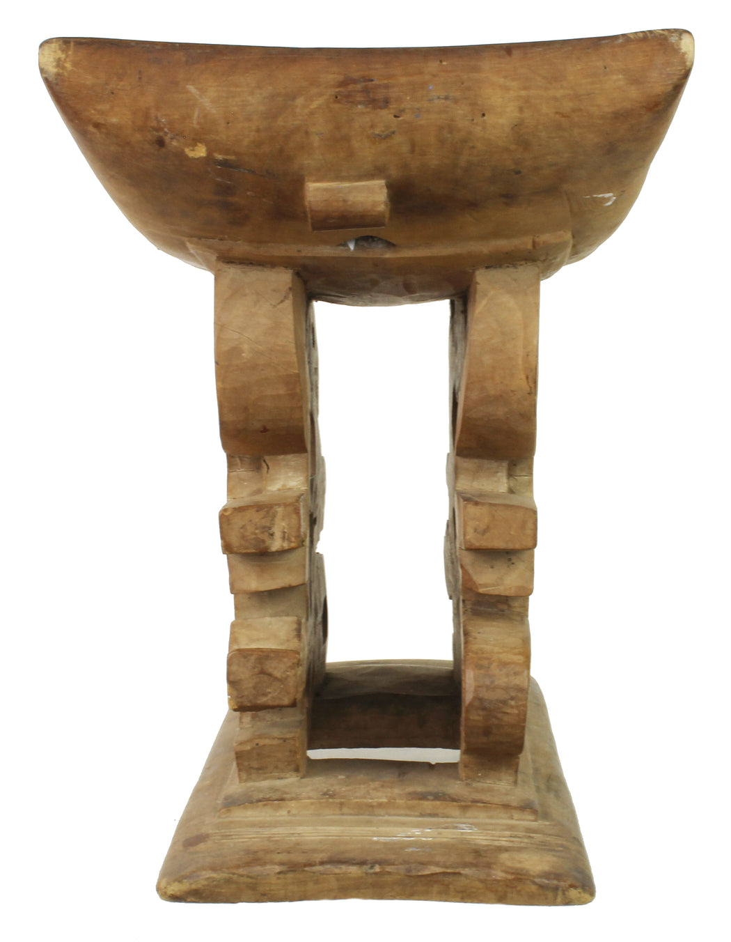 Asante Stool - Rare Design and Detail - Niger Bend