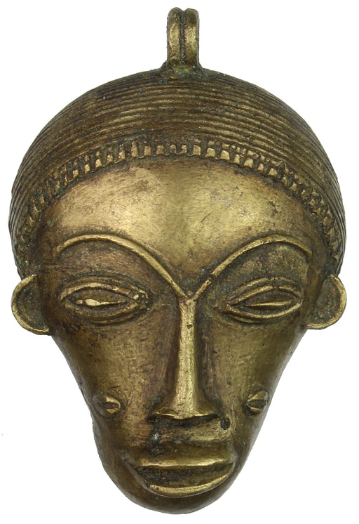 Contemporary African Brass Mask