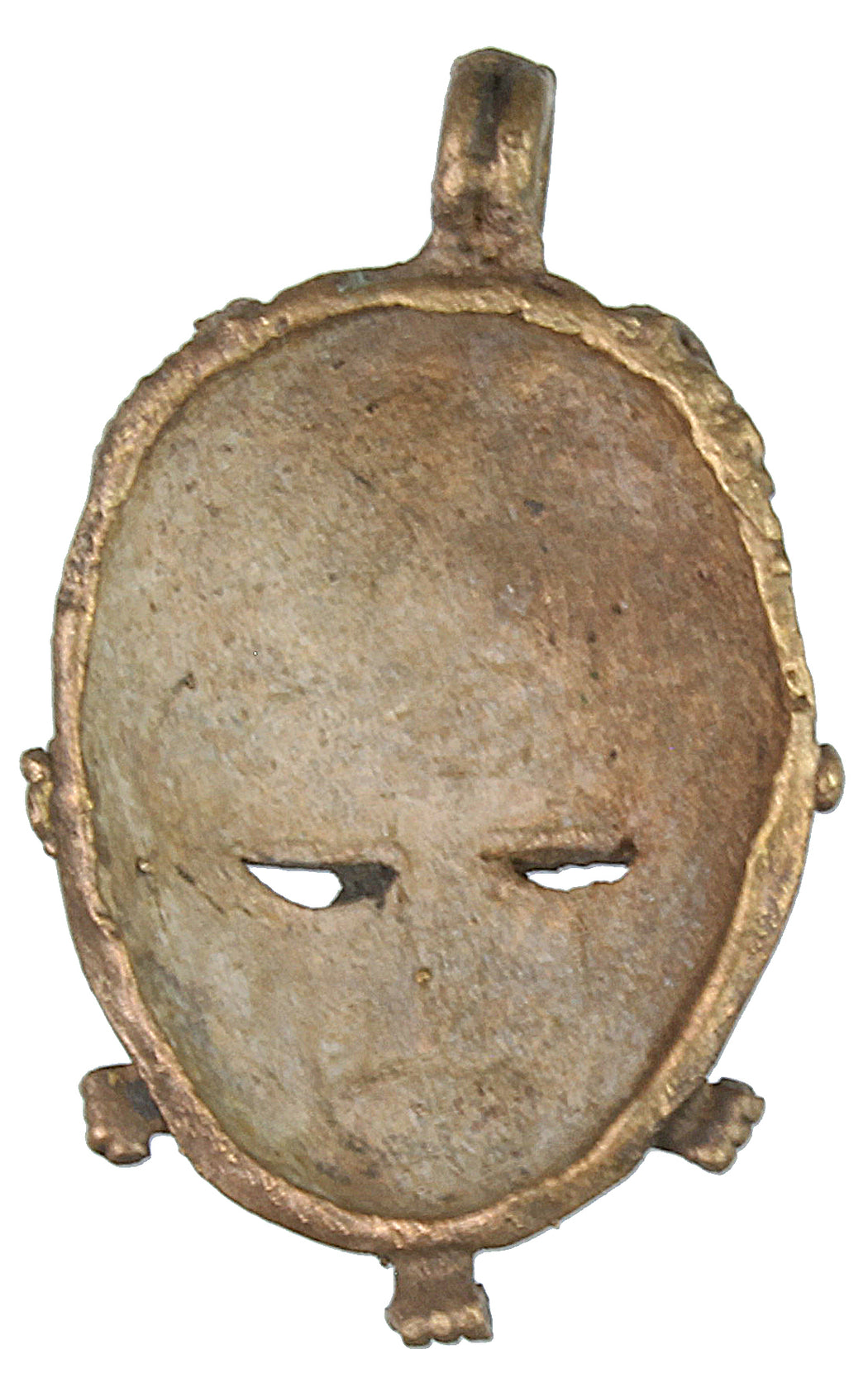 Contemporary African Brass Mask - Niger Bend