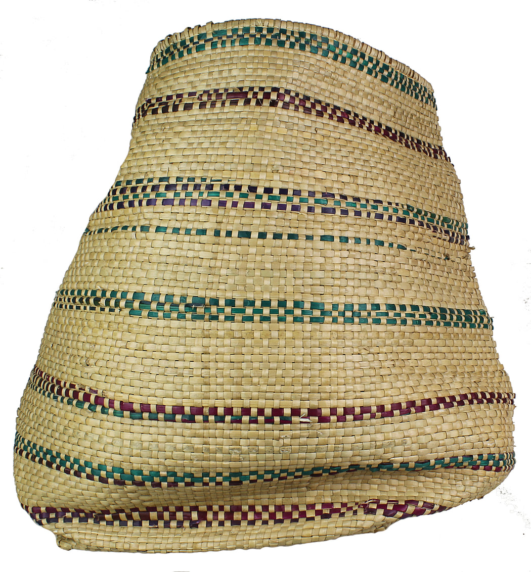 Woven Flexible Tote Style Grass Basket - Niger Bend