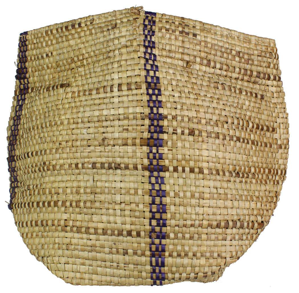 Vintage Woven Flexible Tote Style Grass Basket - Niger Bend