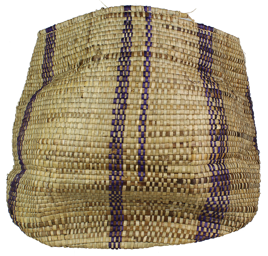 Vintage Woven Flexible Tote Style Grass Basket