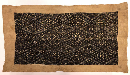 Vintage Black Tay Blanket from Vietnam