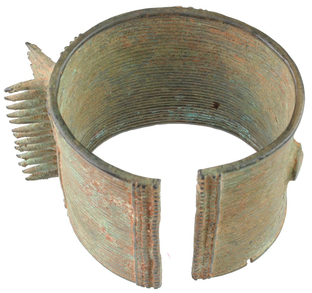 Excavated Brass Bracelet from Niger - Niger Bend