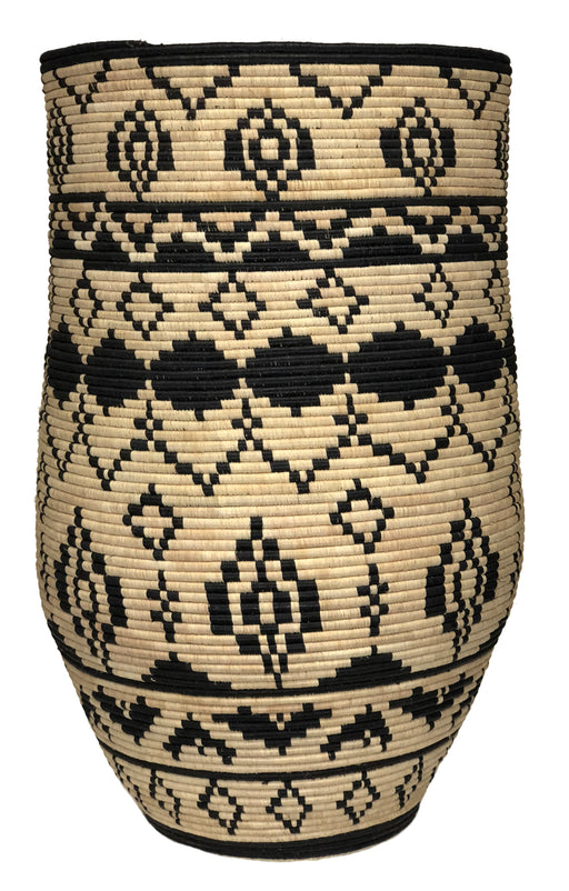 Extra Large and Tall Handwoven Sisal Grass Basket - Niger Bend