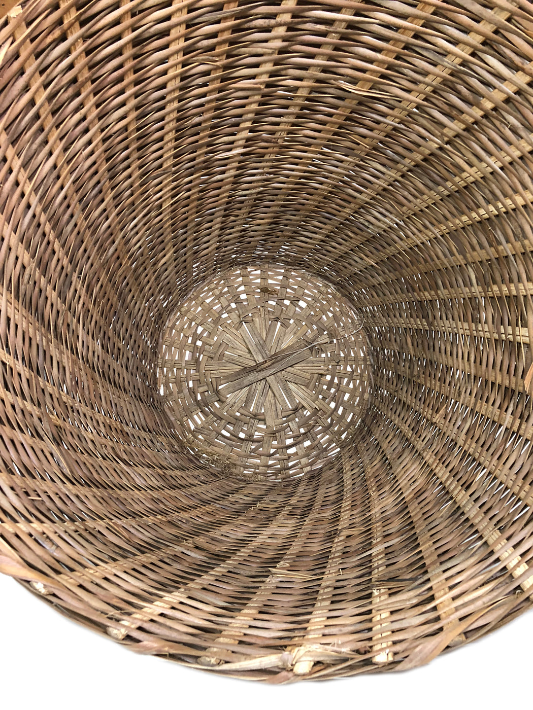 "Woven Palm Frond Basket - ""V"" Shaped - Niger Bend"
