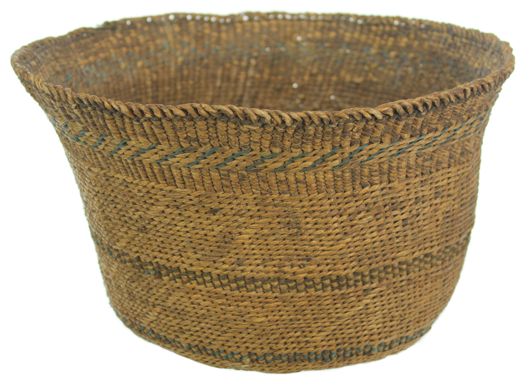 "Vintage Kaguru Basket from Tanzania - Small - 12"" x 7"""