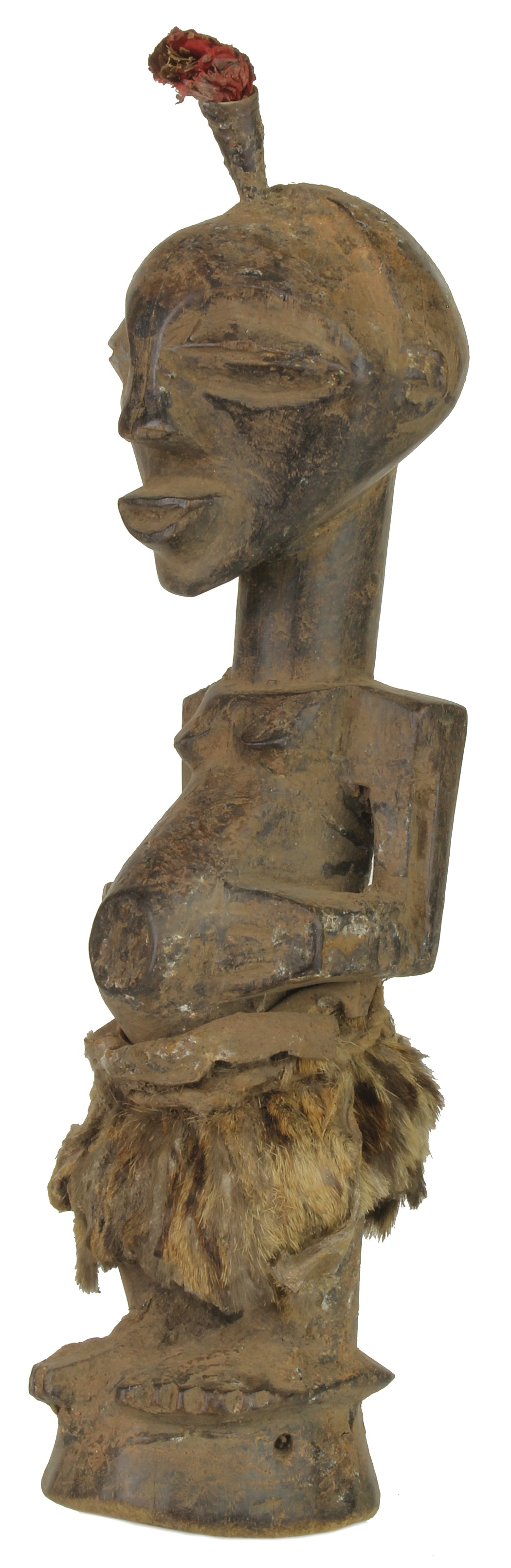 "Songye Tribal Power Figure Statue of Congo | 11"" - Niger Bend"