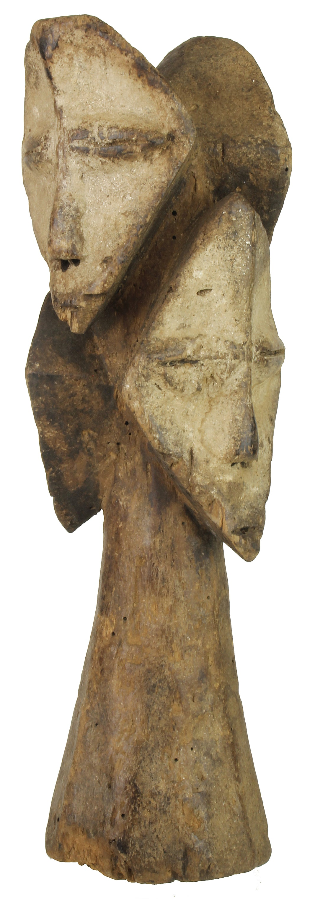 "Lega Tribal Figure Statue of Congo | 11"" - Niger Bend"