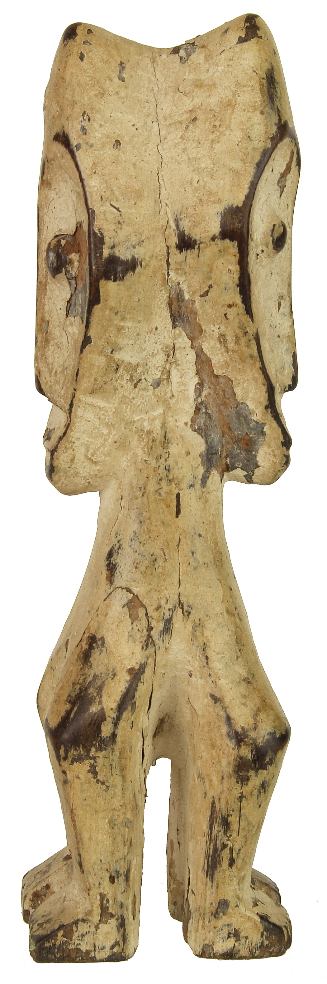 "Lega Tribal Figure Statue of Congo | 8"" - Niger Bend"