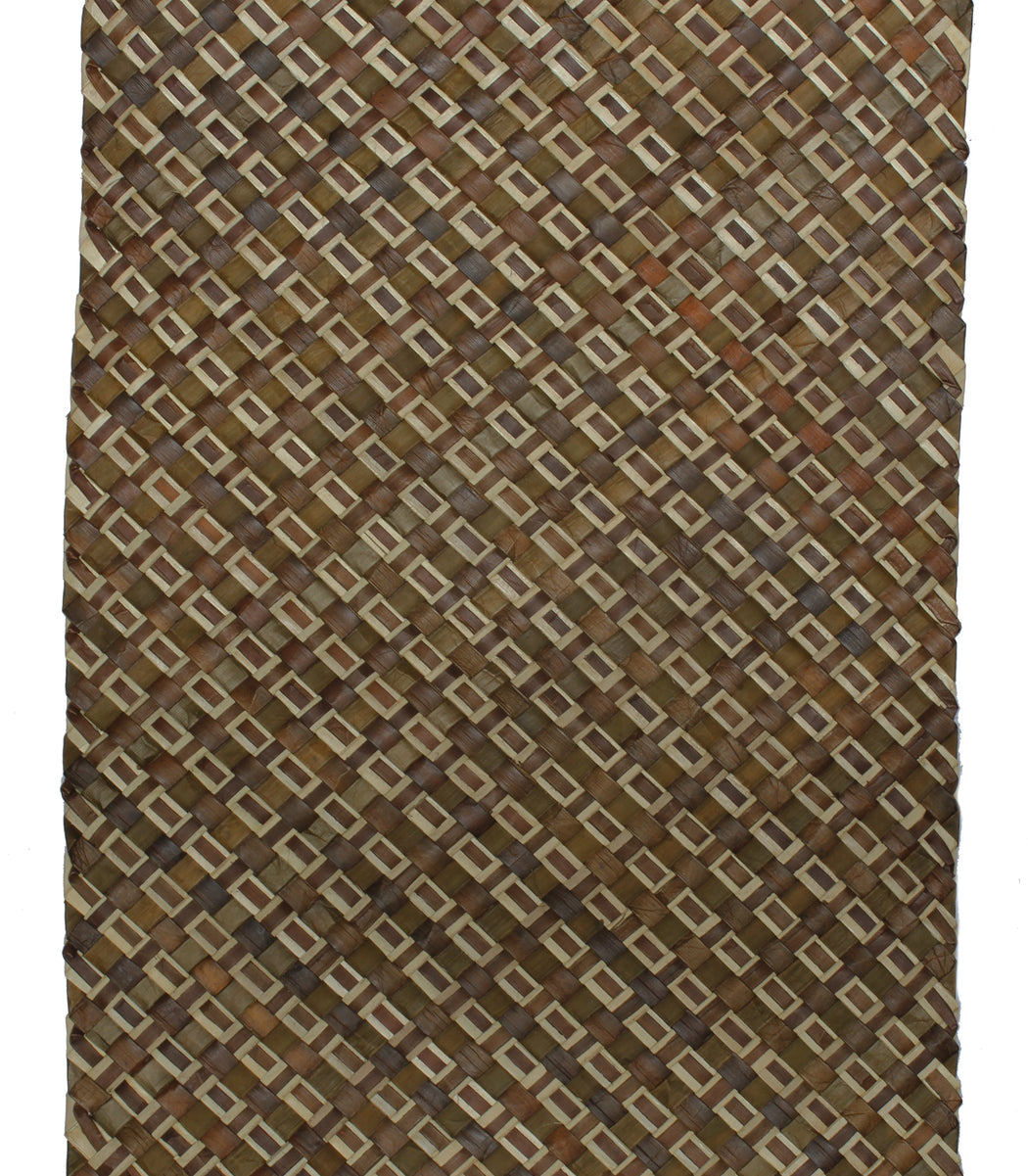 Table Runner Handwoven from Pandan Straw | Brown/Natural