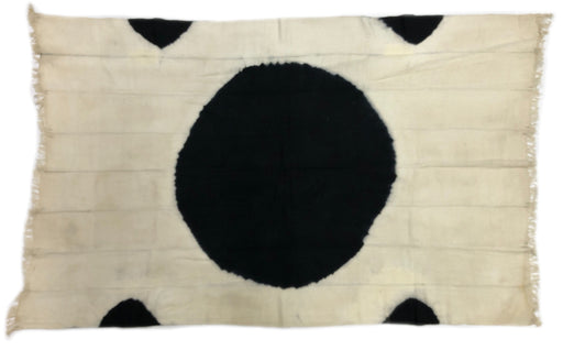 Tiv Textile - 5 Black Dots