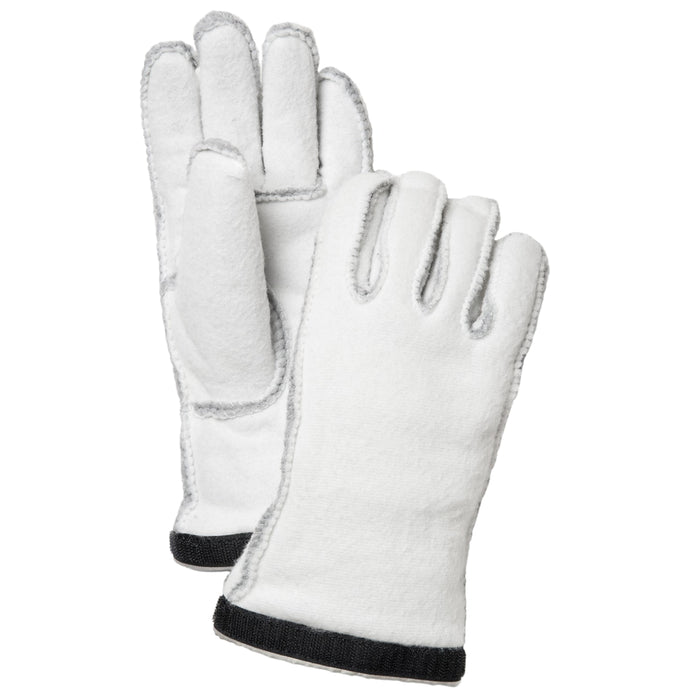 Hestra Insulated Ski & Snowboard Glove Liner Long 5 Finger Womens - For Army Leather Heli
